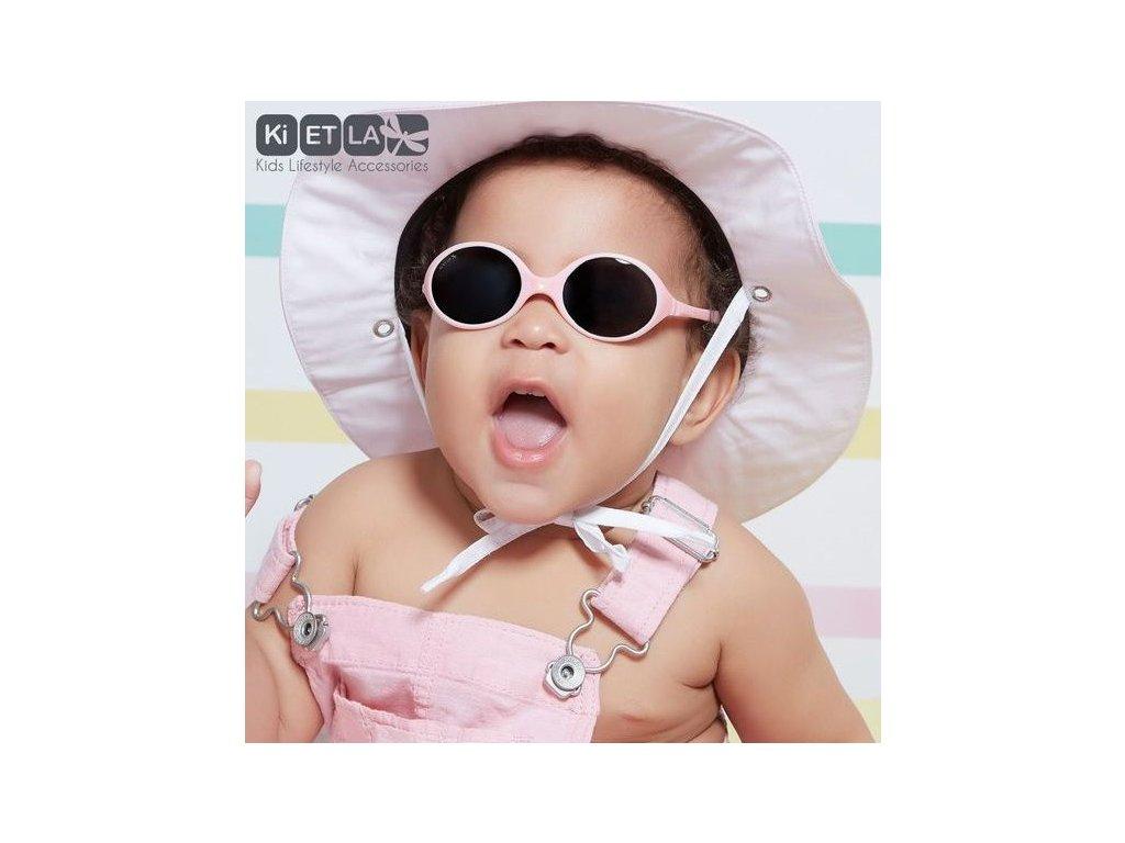e1268c56db1 Dětské sluneční brýle KiETLA Diabola 0-18 m. - mentolová - OUTDOORBABY