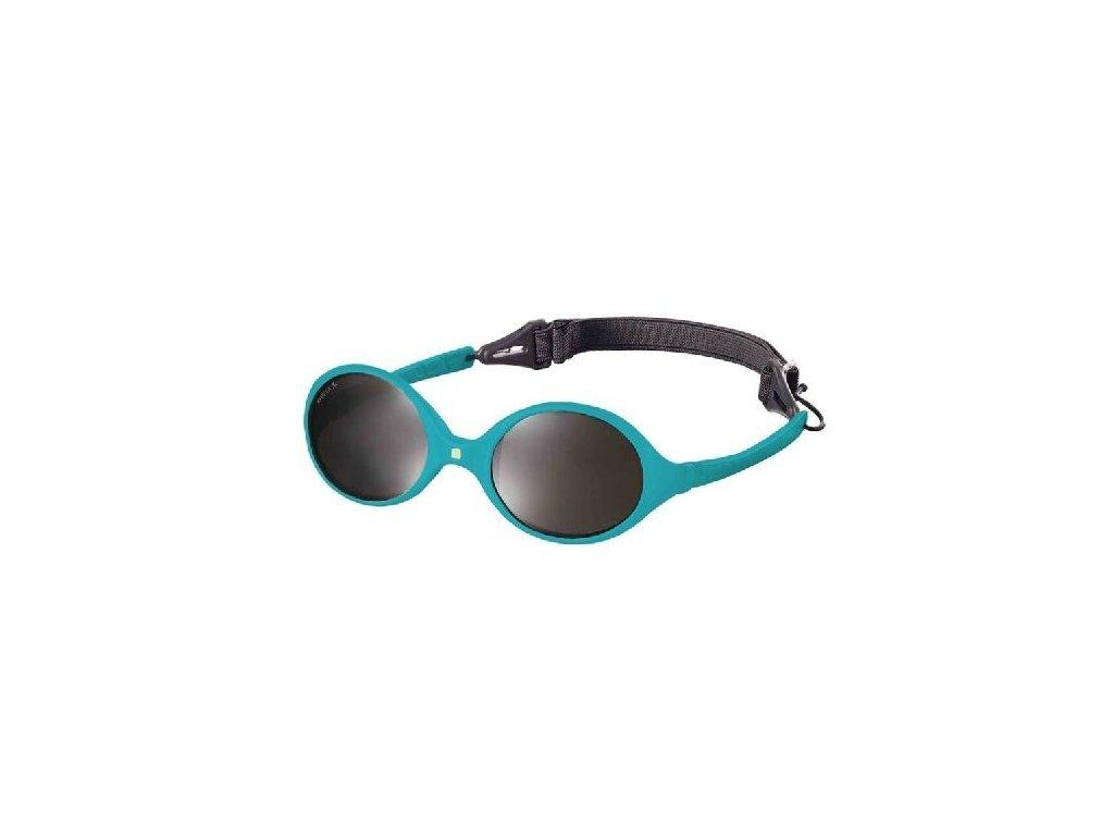 Kvalitní dětské sluneční brýle pro batolata s ochranou před UVA i UVB zářením KiETLA Diabola 0-18 m v modré barvě