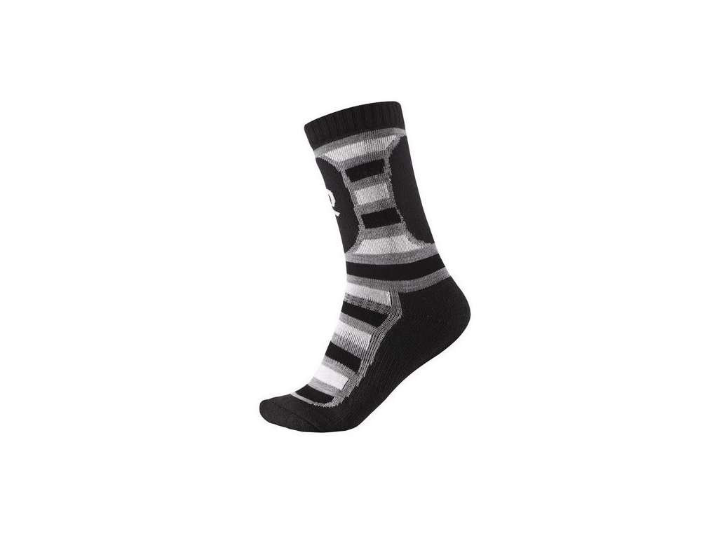 Kvalitní dětské vlněné zimní ponožky Reima Stork v černé barvě