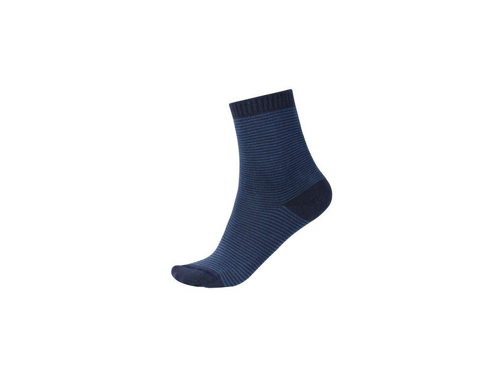 Kvalitní dětské vlněné zimní ponožky Reima My Day v modré barvě