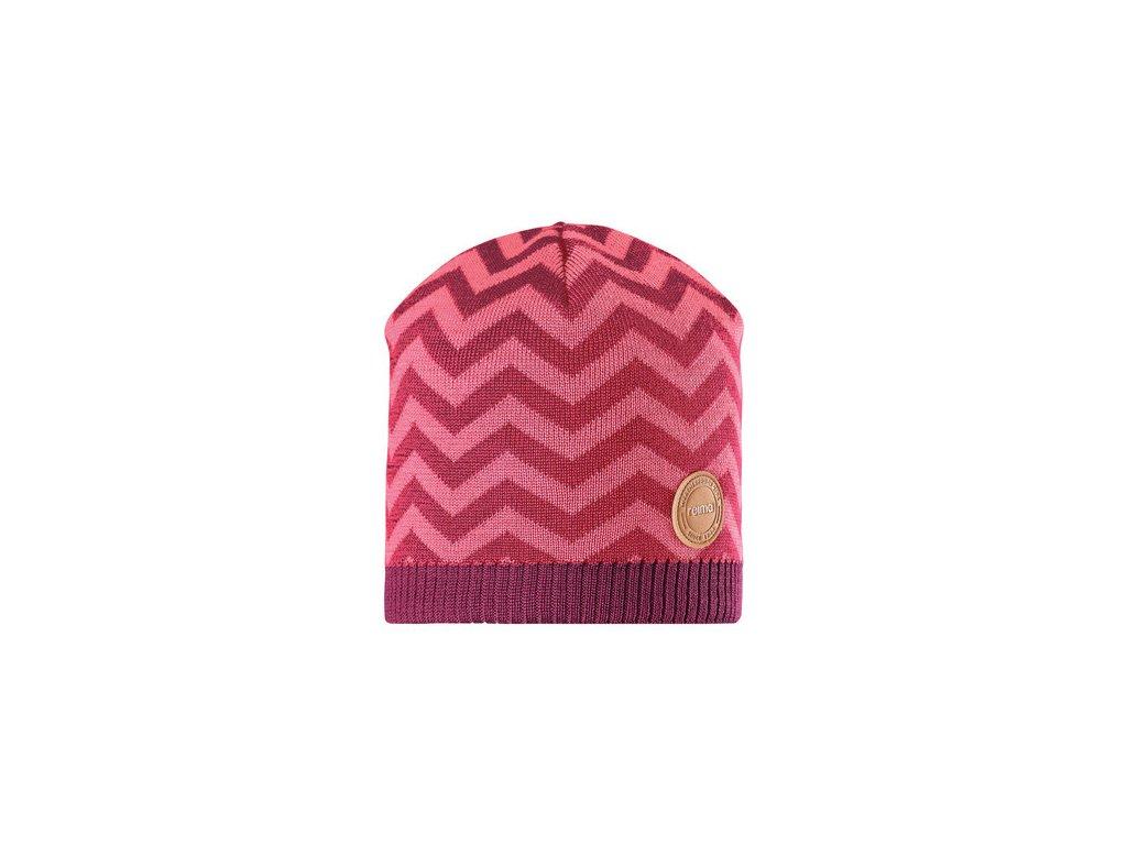 Dětská čepice Reima Kolmio - cranberry pink