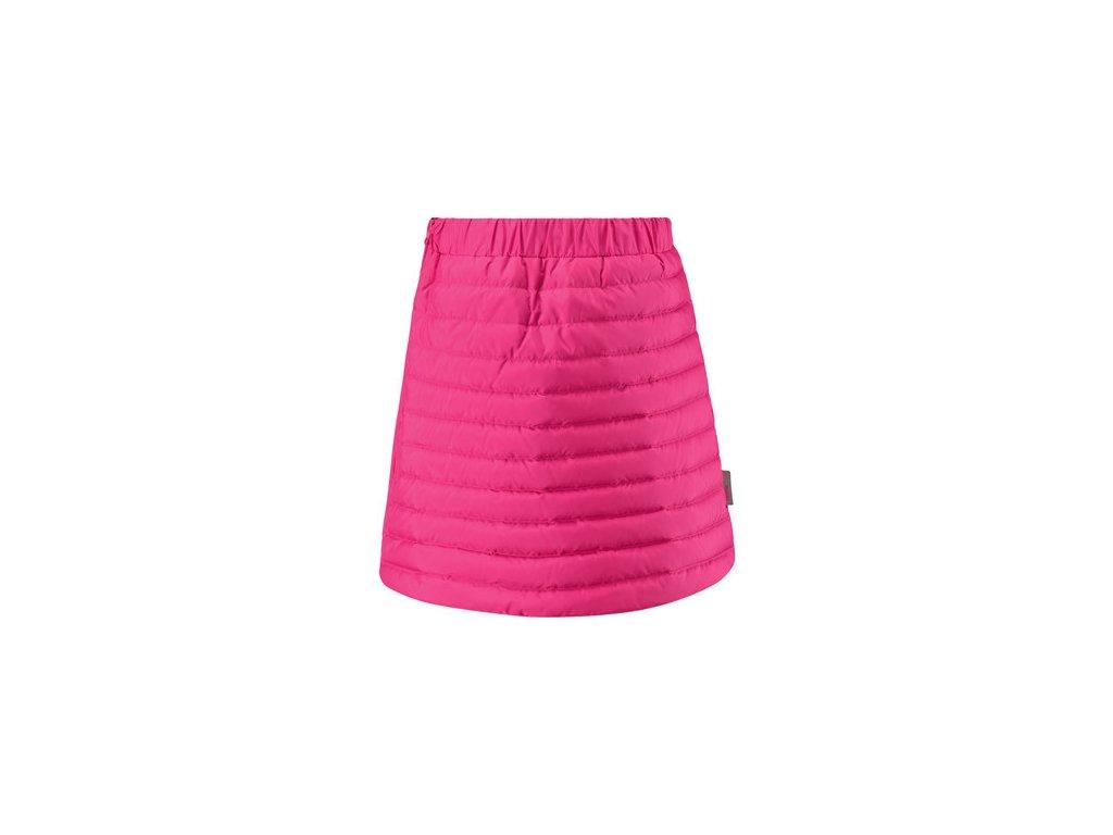 Kvalitní dětská dívčí zimní sukně Reima Floora - rose v růžové barvě