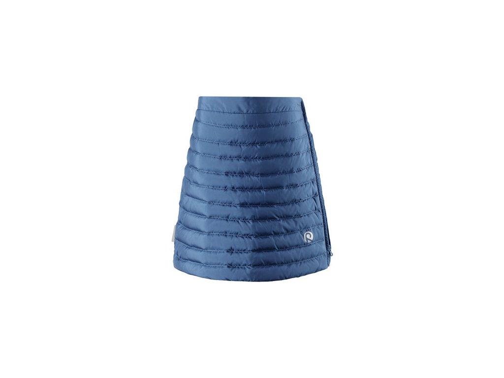 Kvalitní dětská dívčí zimní sukně Reima Floora - denim blue v modré barvě 0e78ec0f11