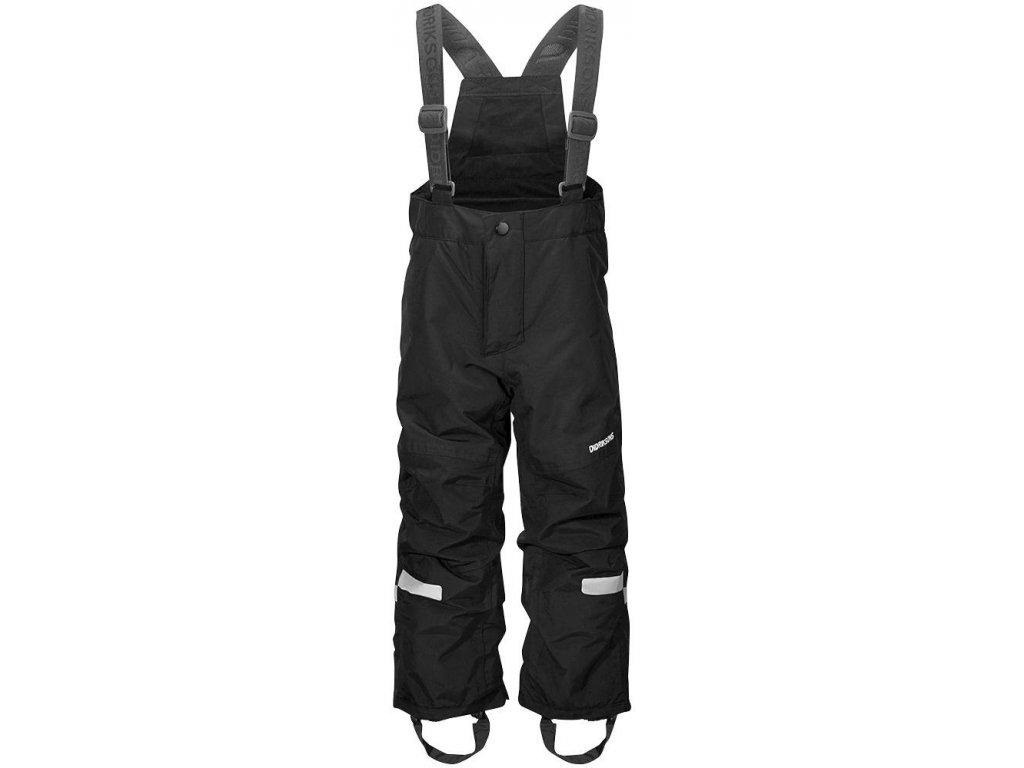 Kvalitní dětské zimní lyžařské kalhoty Didriksons 1913 Idre v černé barvě d92102b0c5