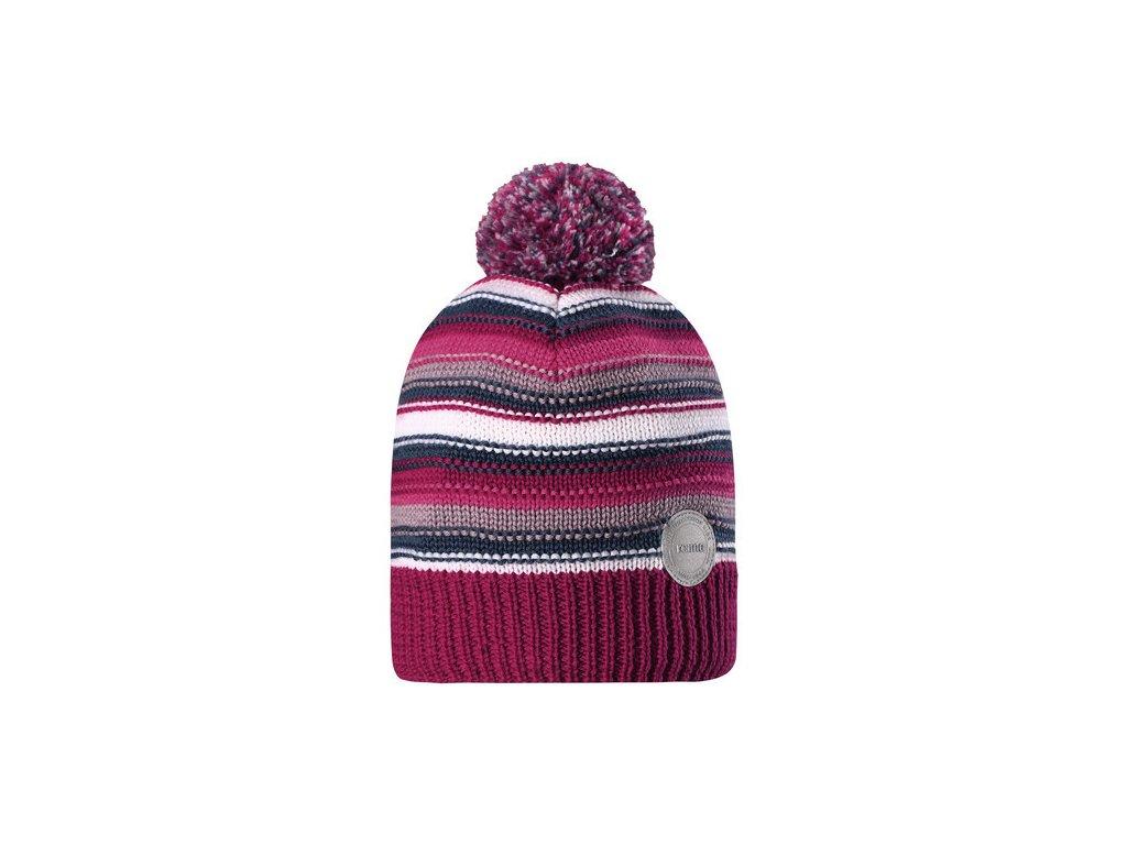 Dětská čepice Reima Hurmos heather pink - OUTDOORBABY 54a9cd2f32