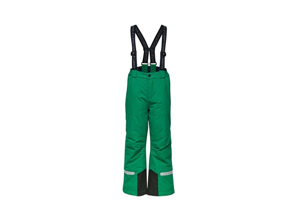 Dětské lyžařské kalhoty LEGO® Wear Tec Ping 775 zelené