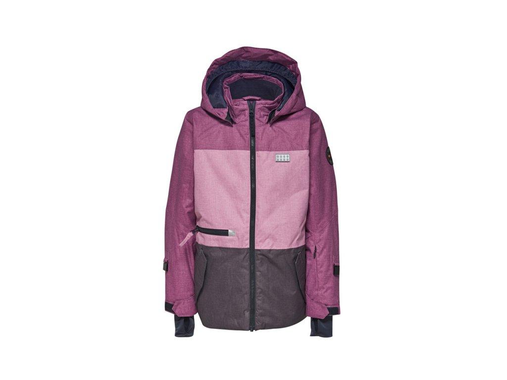 Kvalitní dětská zimní zateplená bunda s odnímatelnou kapucí a reflexními  prvky LEGO® Wear Tec Jamila eeb3fb141e