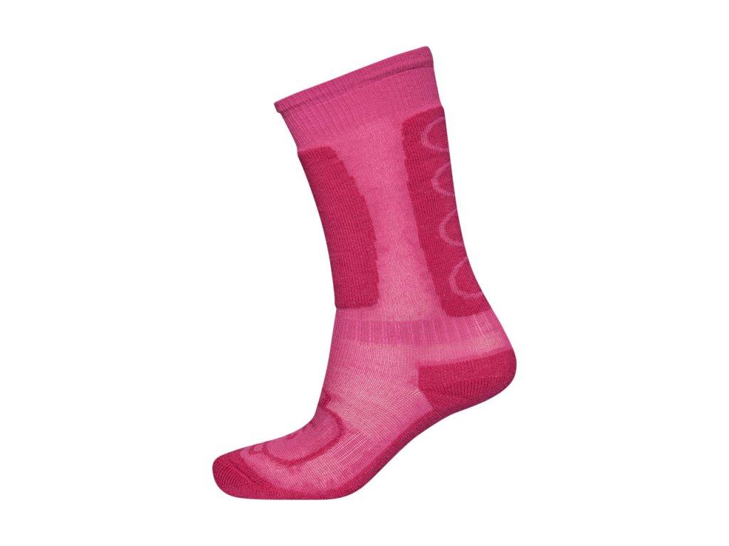 Kvalitní dětské vlněné lyžařské ponožky Sensor Thermosnow Norway v  černo-modré barvě  3fa613728c5