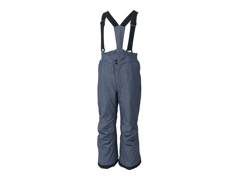 5eeffae68a1 Kvalitní dětské zimní lyžařské kalhoty Color Kids David estate blue v šedé  barvě