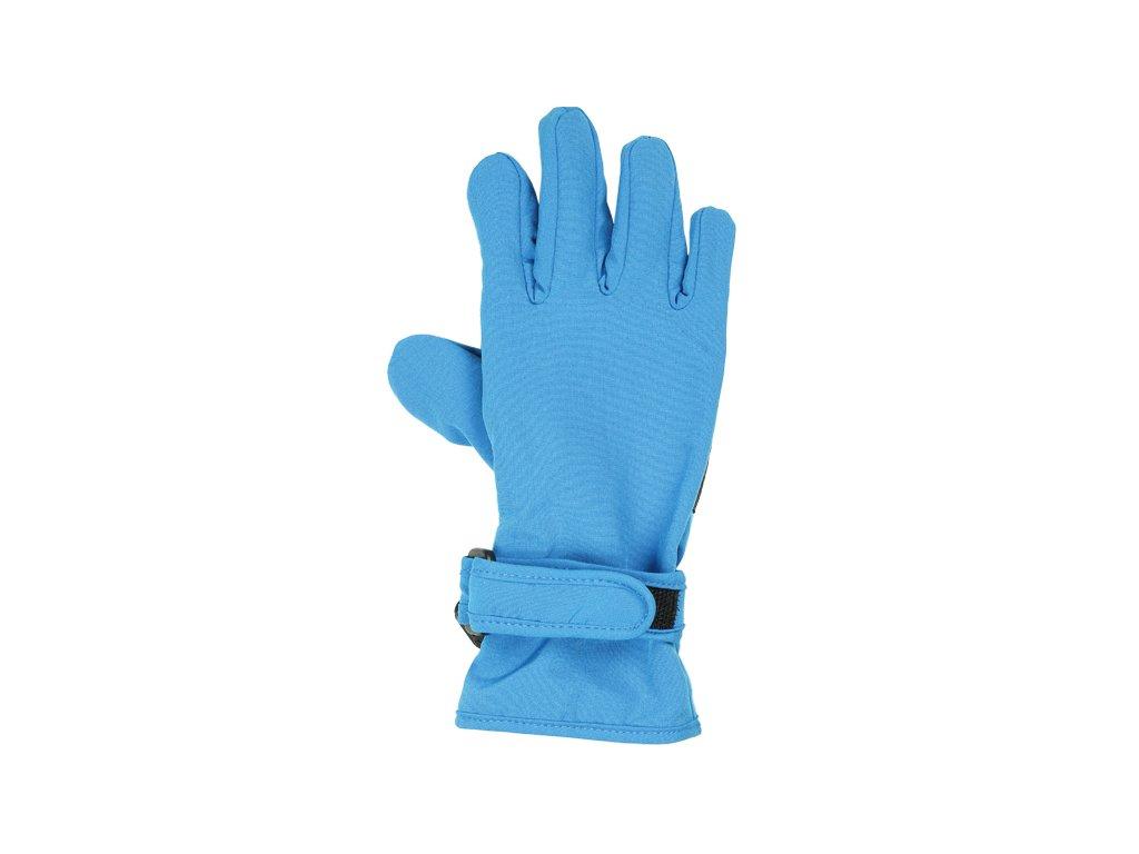 16316fdc156 Kvalitní dětské zimní nepromokavé softshellové rukavice prstové Maximo v  modré barvě