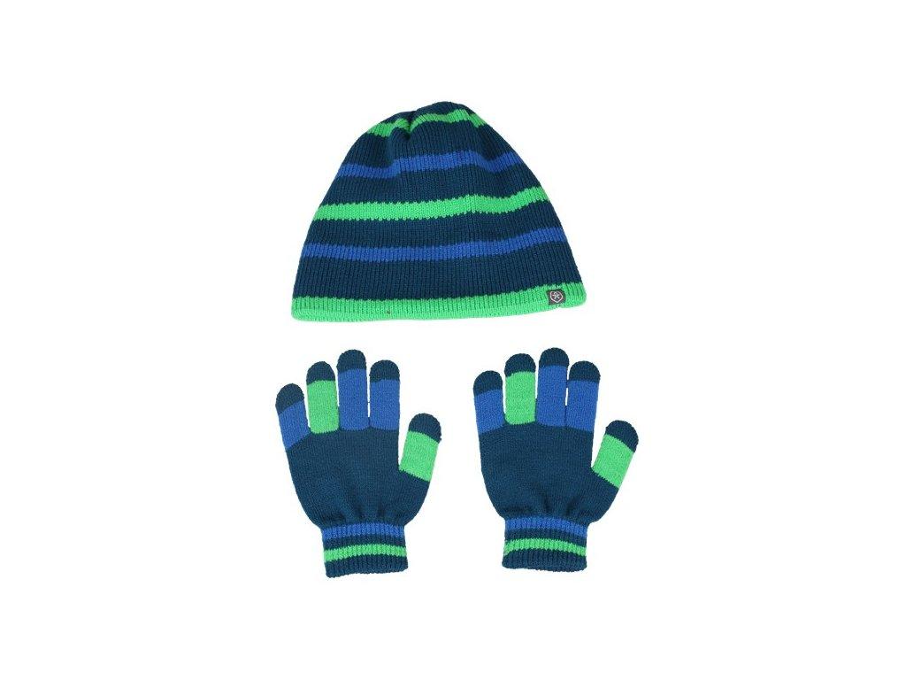 Kvalitní dětské vlněné lyžařské ponožky Color Kids Dustin toucan green v  zelené barvě  daf095de7c