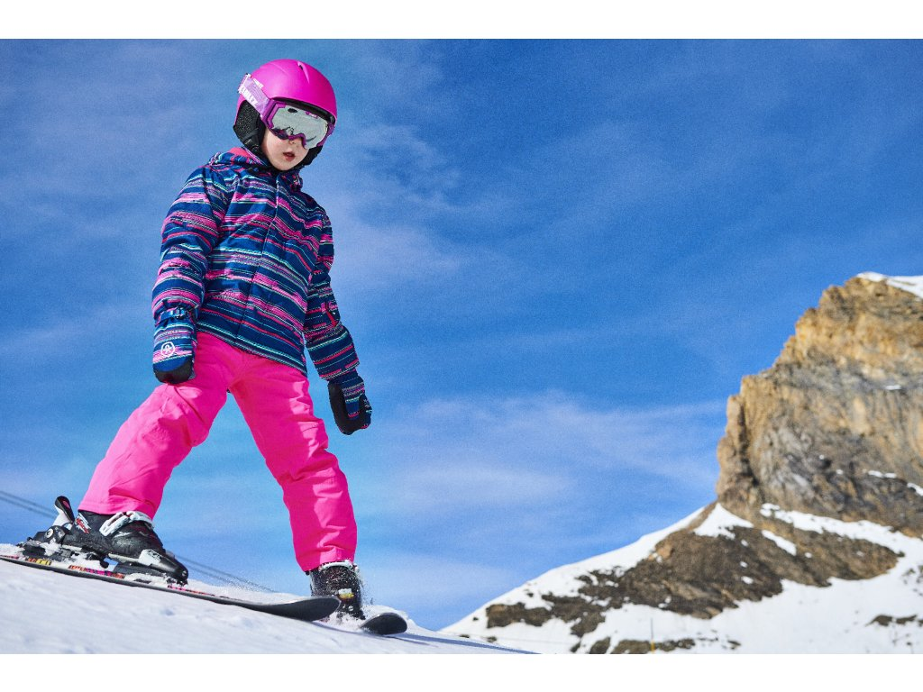 ... Dětská lyžařská bunda je vyrobena z větruodolného a voděodolného  materiálu ... a9a3fc6ca7