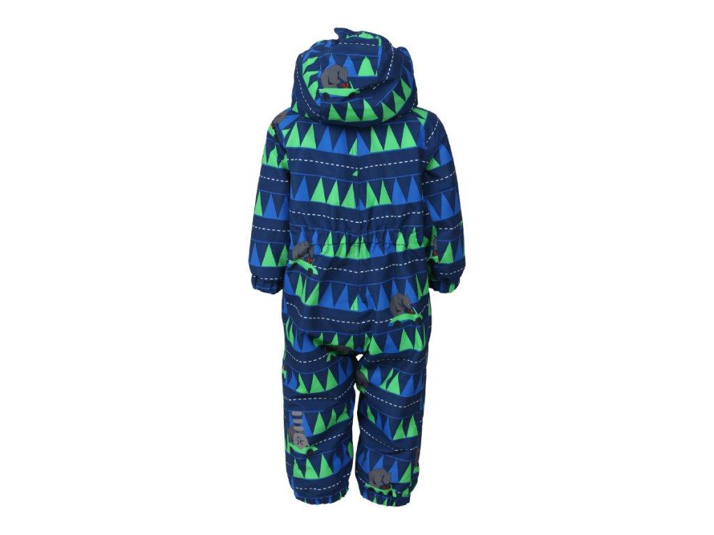 173266d5614 Kvalitní dětský zimní overal s odnímatelnou kapucí a reflexními prvky Color  Kids Rimah estate blue v · Kombinéza má prodyšnou membránu s bionickým  zátěrem ...