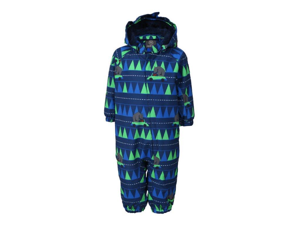 847f66067c9 Kvalitní dětská zimní čepice Color Kids Sullivan toucan green v zelené barvě