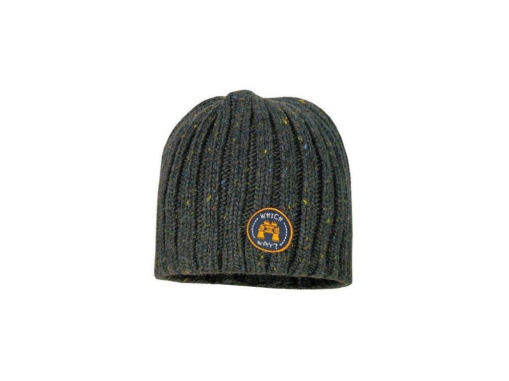 Kvalitní dětská zimní čepice Maximo v šedé barvě