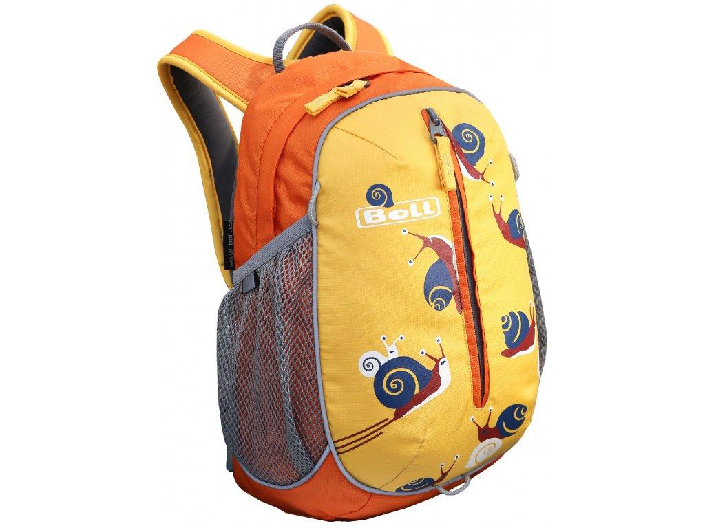 Kvalitní nylonový, komfortní a propracovaný batoh pro předškoláky a mladší školáky Boll Roo 12L sunflower ve žluté barvě