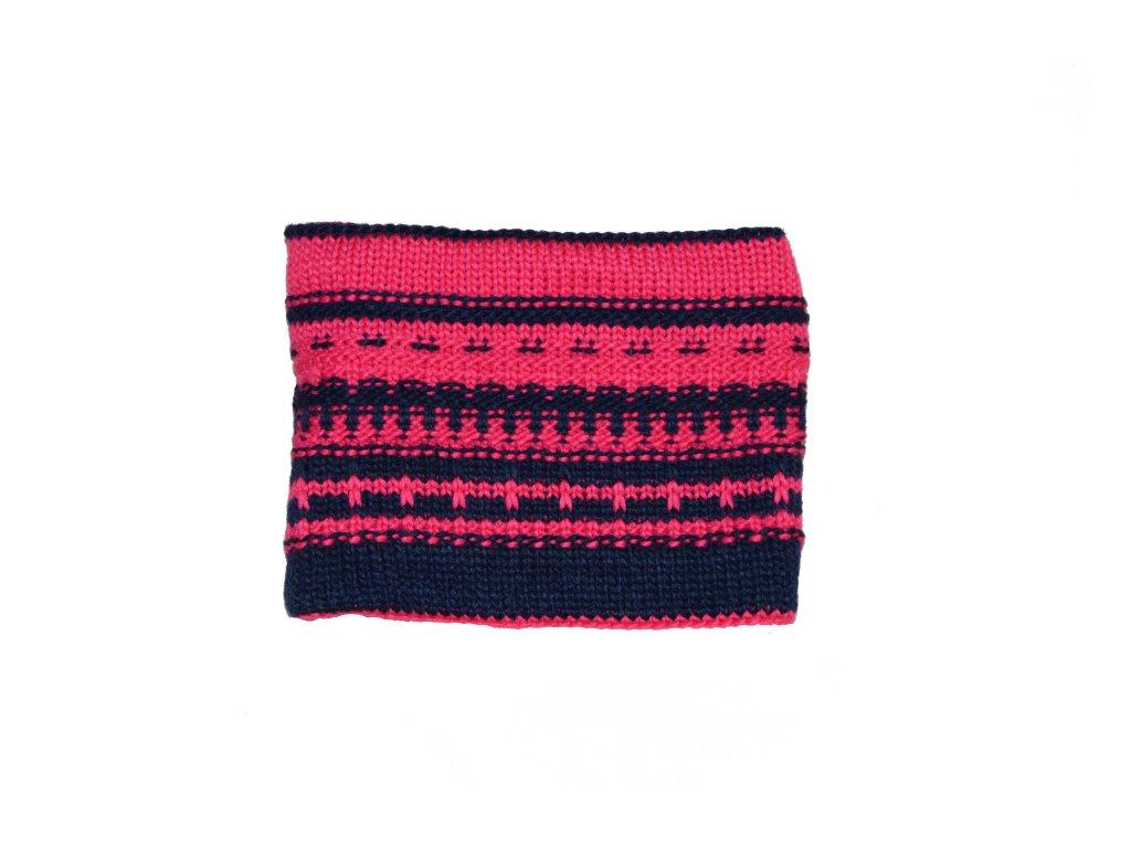 Kvalitní dětská zimní membránová bunda s odnímatelnou kapucí a reflexními  prvky Color Kids Dahlia rasberry ve světle červené barvě  e681333438