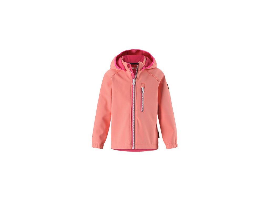 Kvalitní dětská hřejivá jarní fleecová mikina Didriksons 1913 Monte v růžové  barvě  7d6f1b7e0f