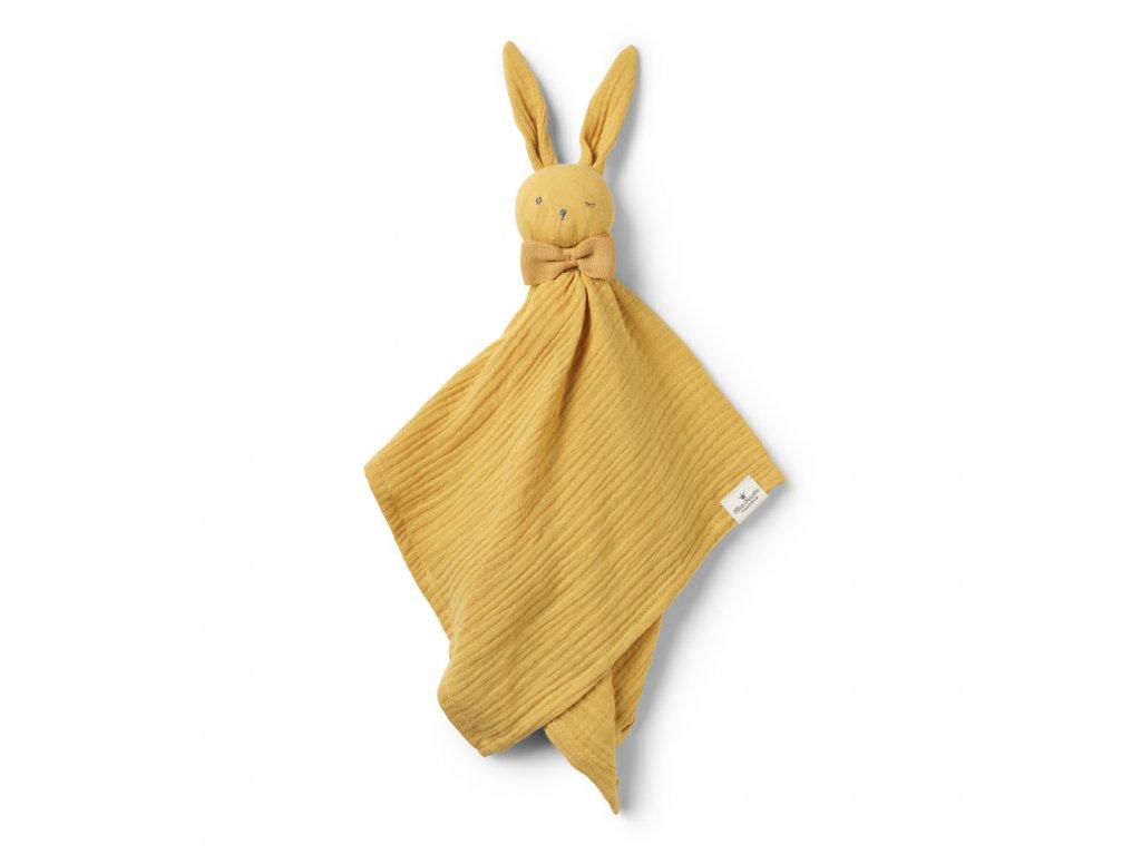Kvalitní látková a bavlněná hračka pro ty nejmenší děti Muchláček Elodie Details Blinkie Goldie