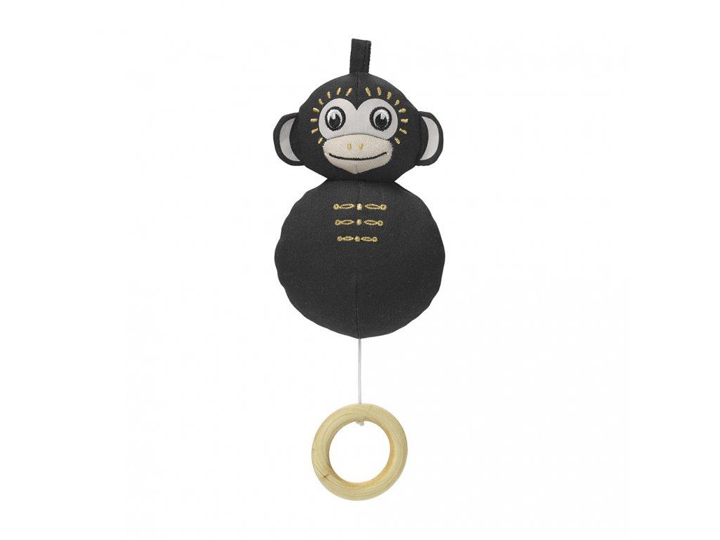 Kvalitní dětská hudební hračka ve tvaru opičky Elodie Details Playful Pepe