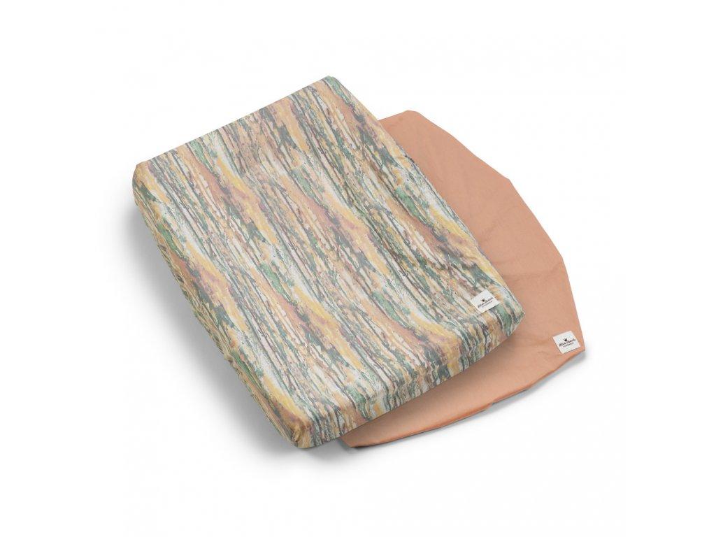 Kvalitní bavlněný povlak na přebalovací podložku Elodie Details - Unicorn Rain