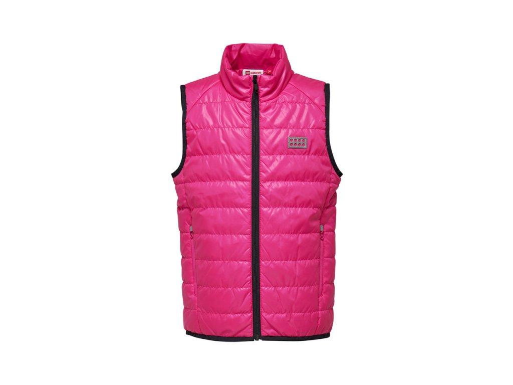 Dětská vesta LEGO® Wear Siam růžová