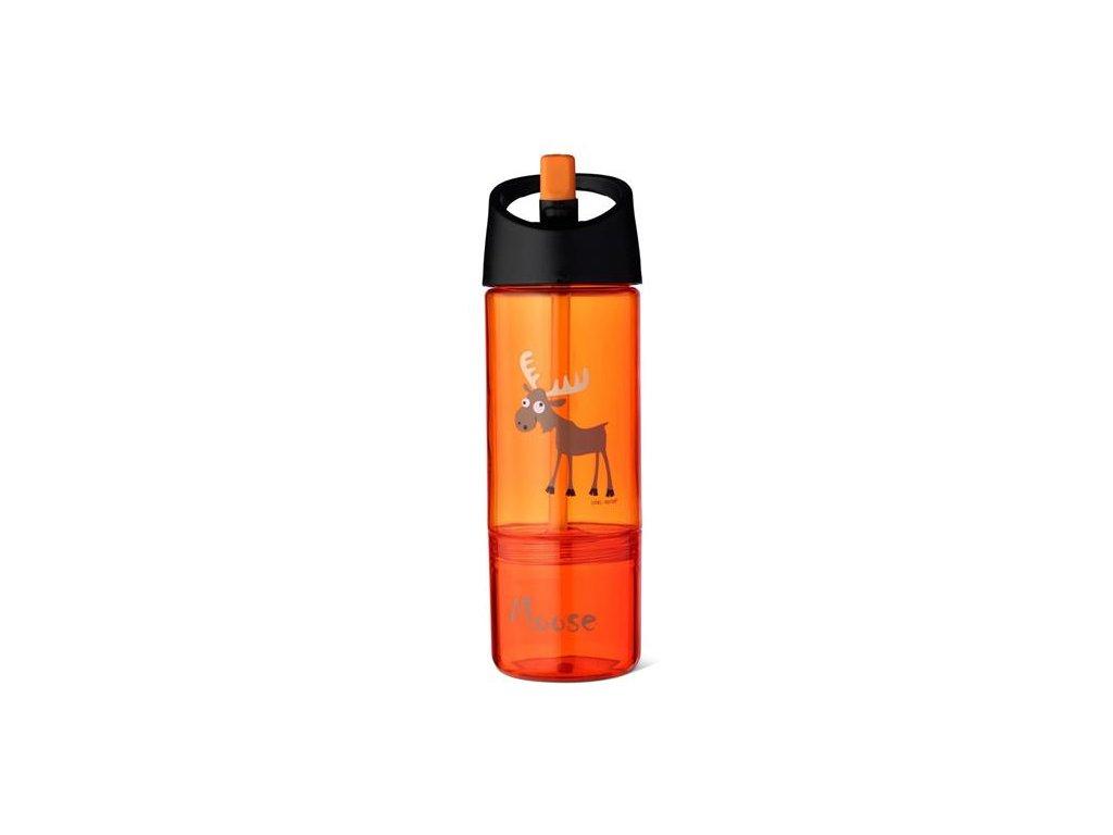 Dětská láhev 2v1 Carl Oscar® oranžová