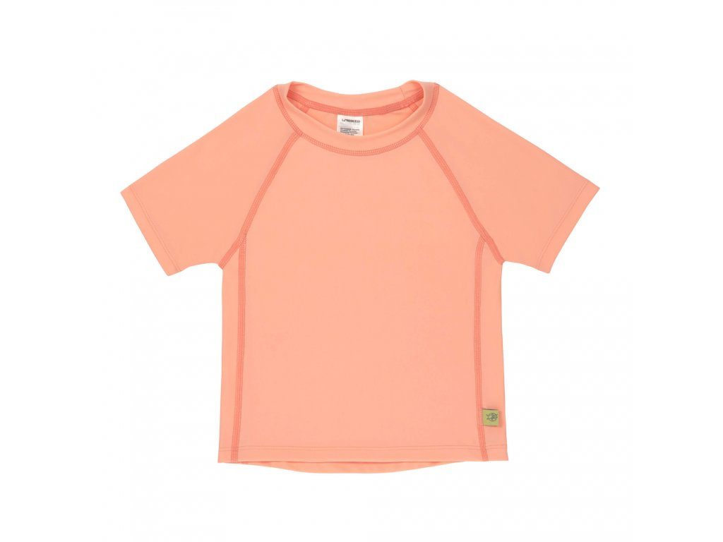 Lassig Short Sleeve Rashguard girls Light peach