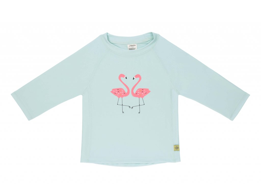 Lassig Long Sleeve Rashguard girls Flamingo
