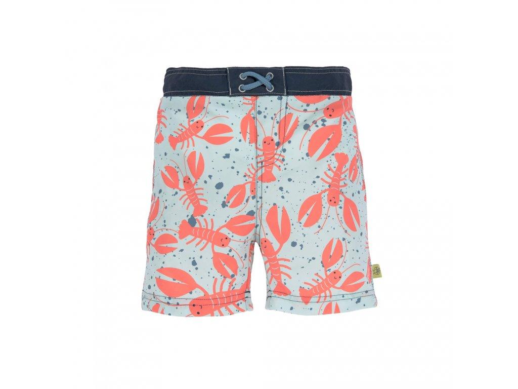 Kvalitní dětské chlapecké šortkové plavky s vnitřní plenkou a UPF 50+ Lassig Board Shorts Boys Lobster