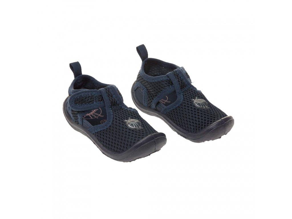 Kvalitní dětské rychleschnoucí boty do vody Lassig beach sandals Navy