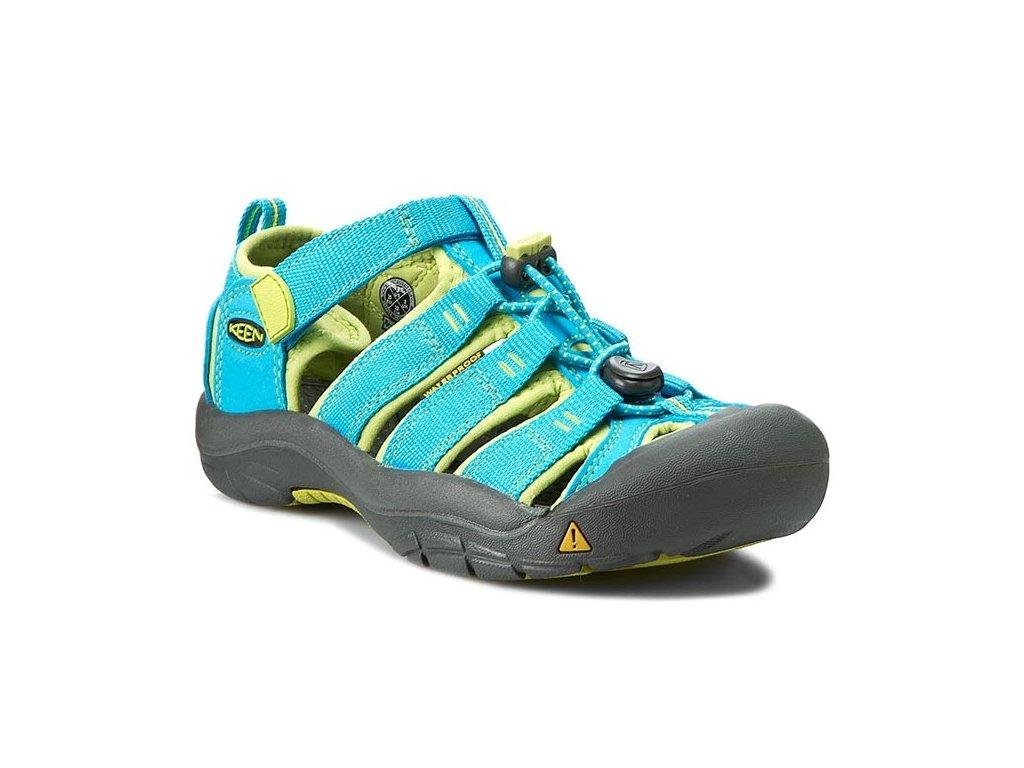 0000197775675 keen 1012314 youth newport h2 hawaiian blue green glow kc 01