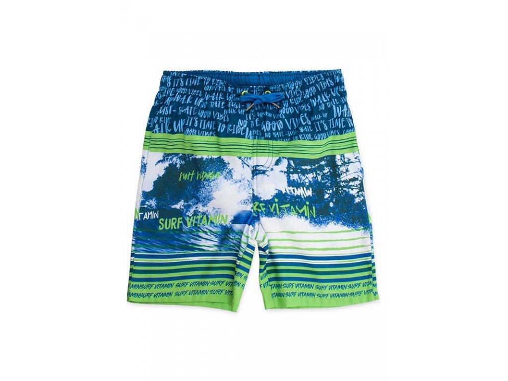 Kvalitní chlapecké rychleschnoucí šortkové plavky s UV ochranou Losan Vitamin Surf