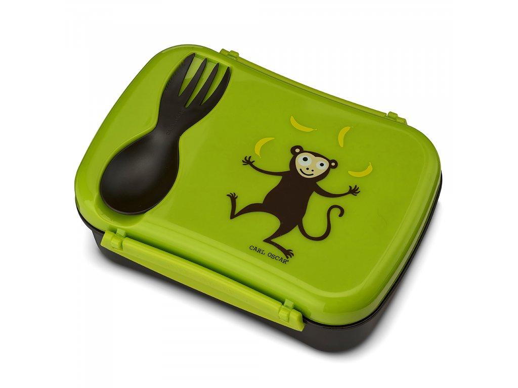 N'ice Box ™ Kids Carl Oscar® zelená - opička