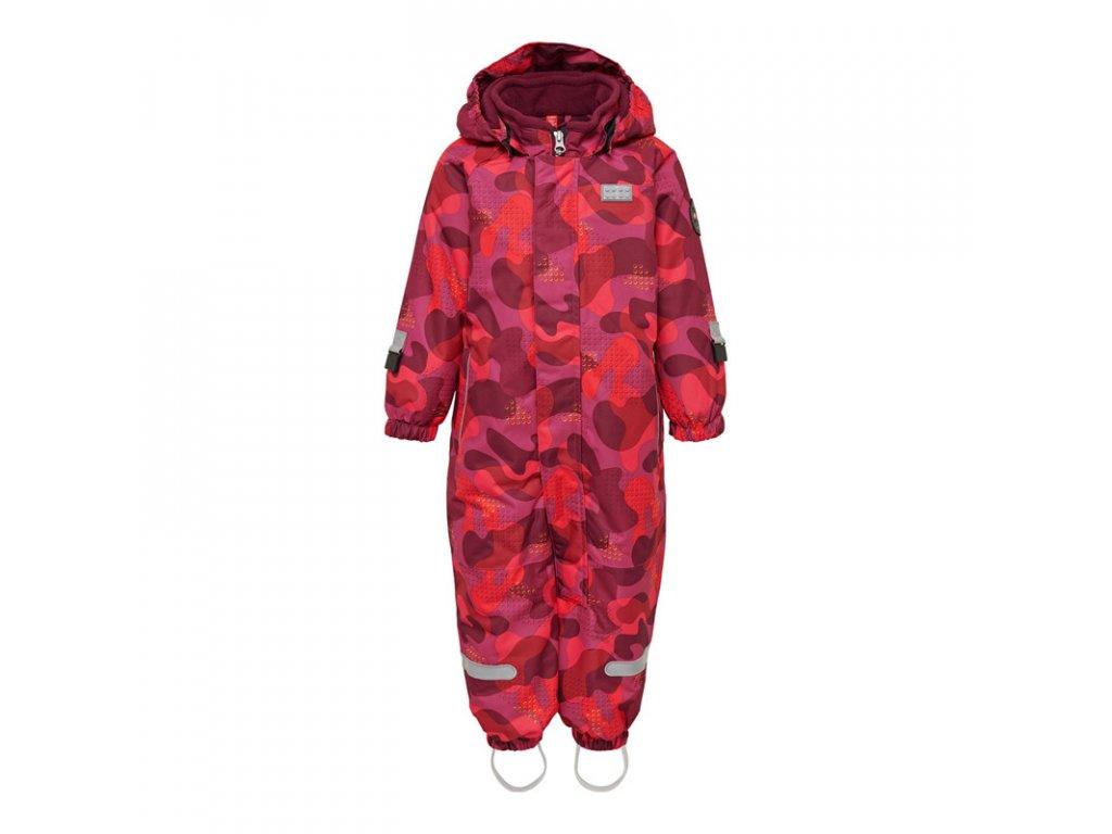 Dětská zimní kombinéza LEGO® Wear Julian tmavě růžová