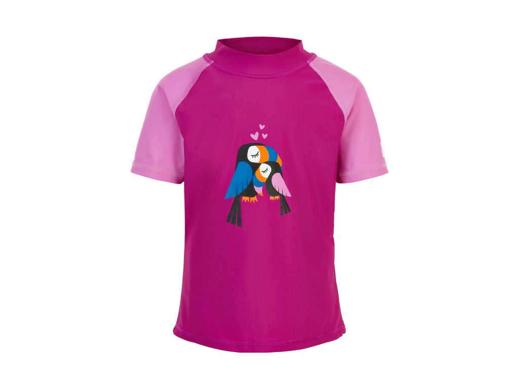 Dětské UV tričko Color Kids Eline Berry