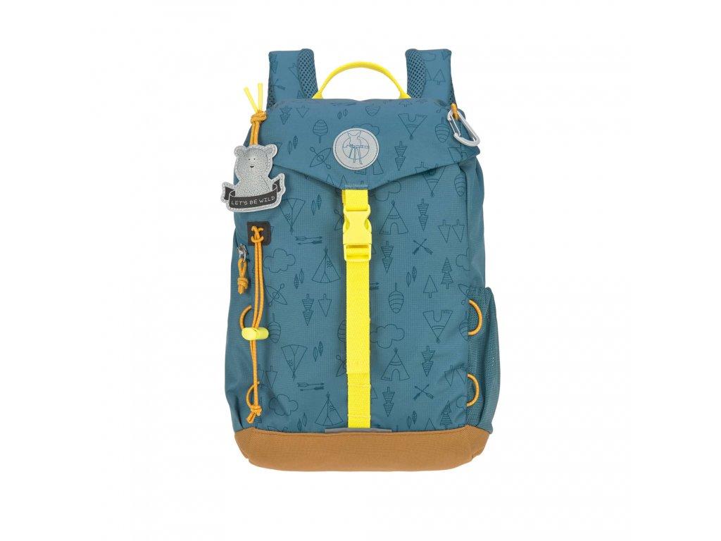 Mini Backpack LÄSSIG Adventure Blue