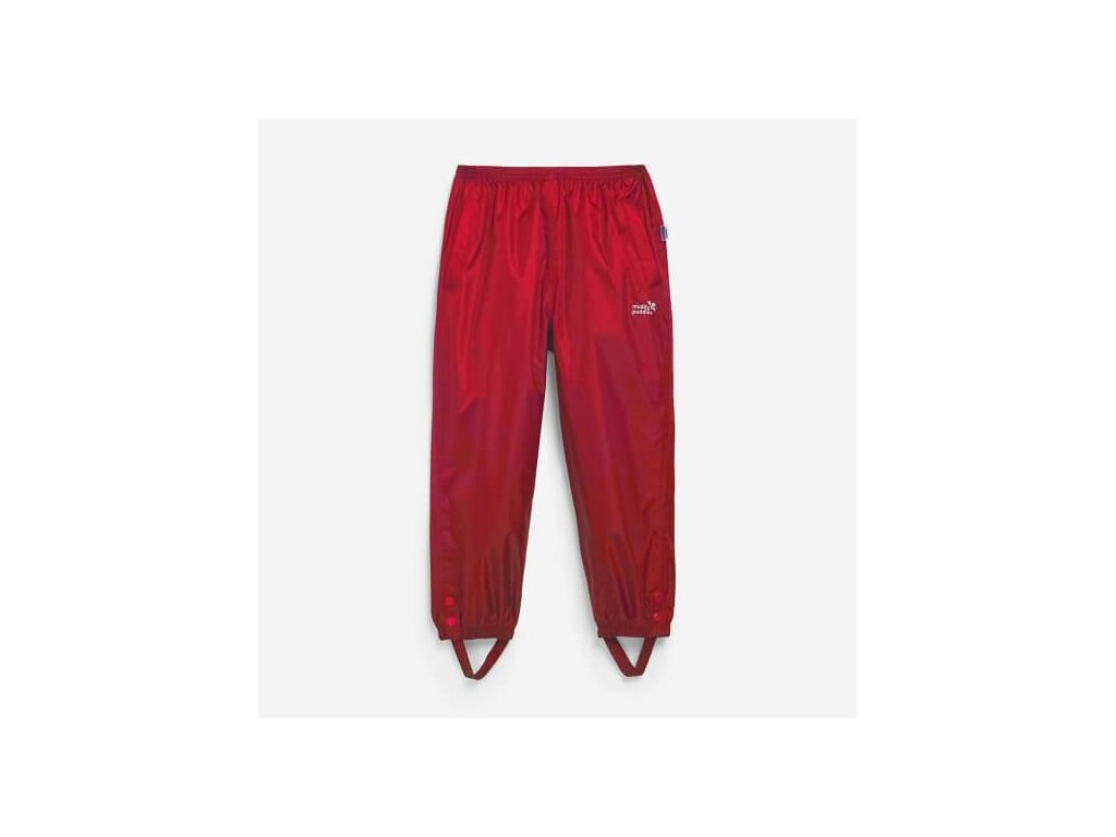 puddlepac trousers red