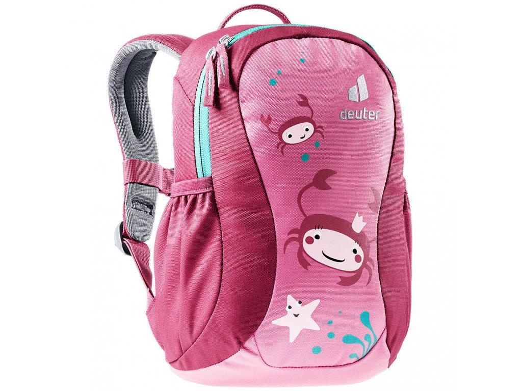 Dětský batoh Deuter Pico Hotpink-ruby