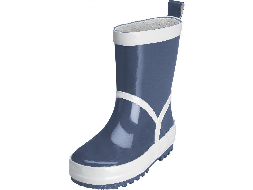 Gumáky Playshoes tmavě modré
