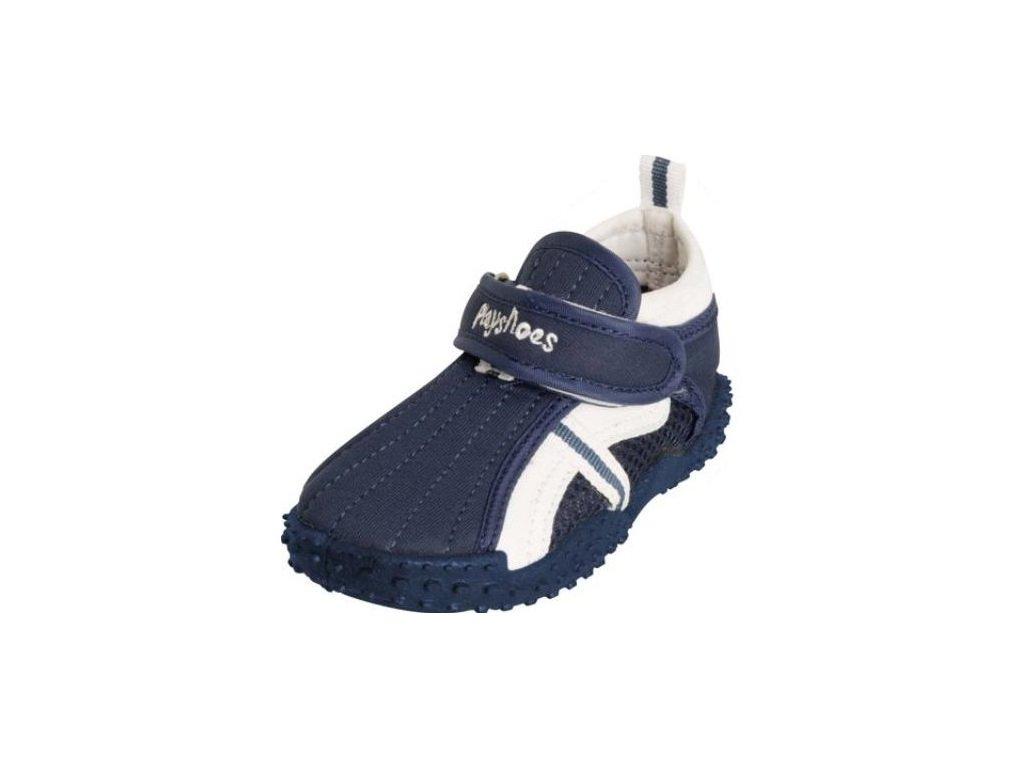 Boty do vody Playshoes s přezkou modré