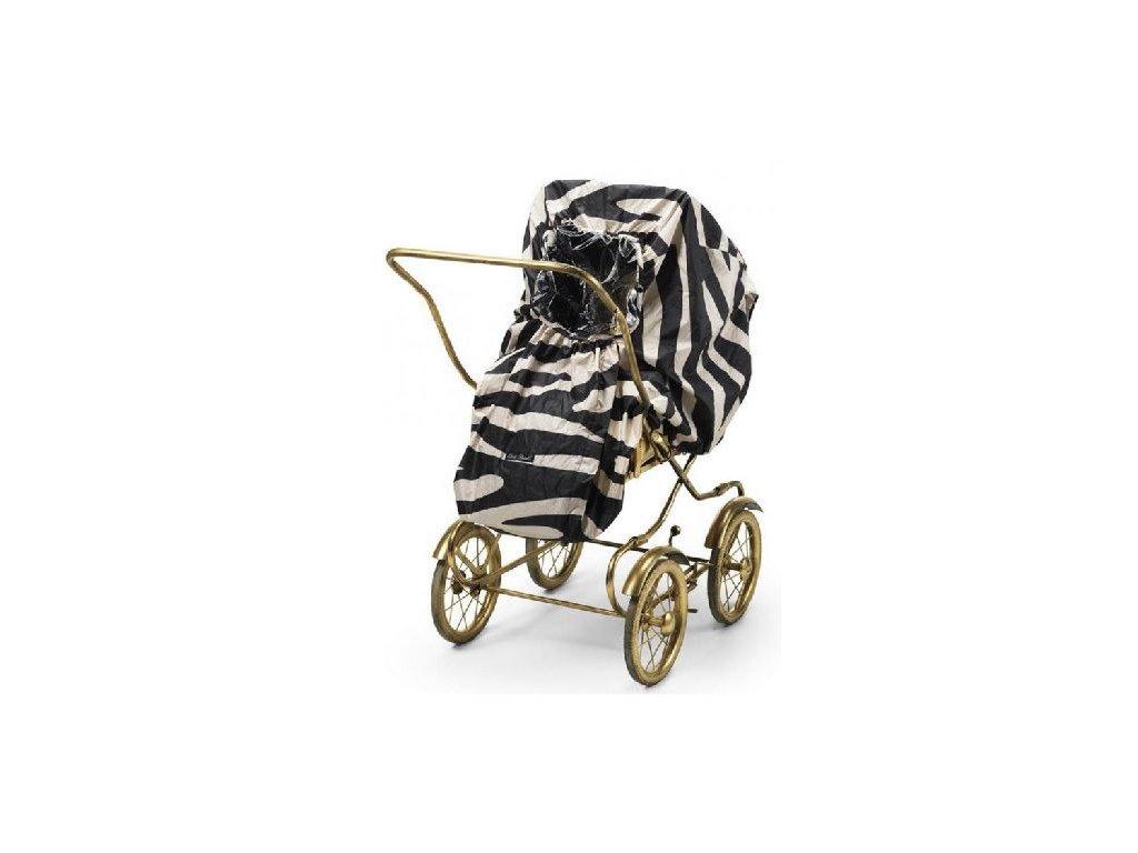Kvalitní univerzální a praktická pláštěnka pro kočárek Elodie Details - Zebra Sunshine