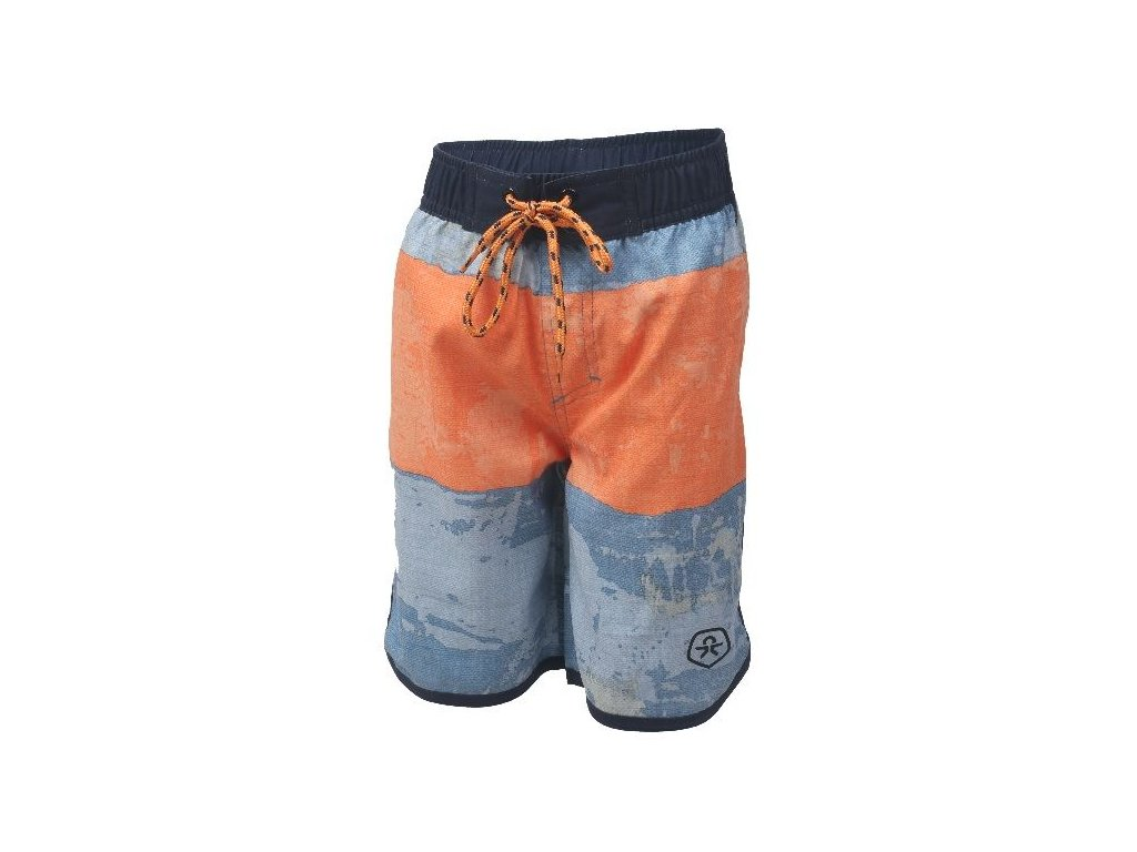 Kvalitní chlapecké rychleschnoucí šortkové plavky s UV ochranou Nillo - Phantom