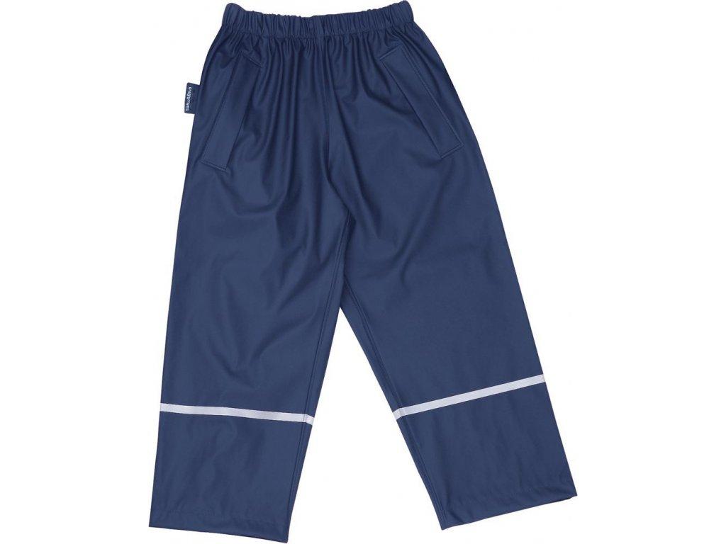 Kvalitní dětské nepromokavé kalhoty do pasu s membránou Playshoes v modré barvě
