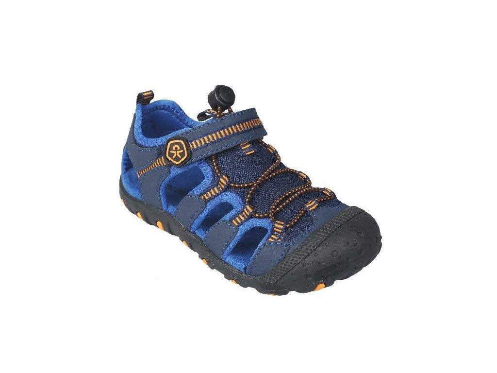 Kvalitní dětské pohodlné sandály Color Kids Thorold - Estate blue v modré barvě