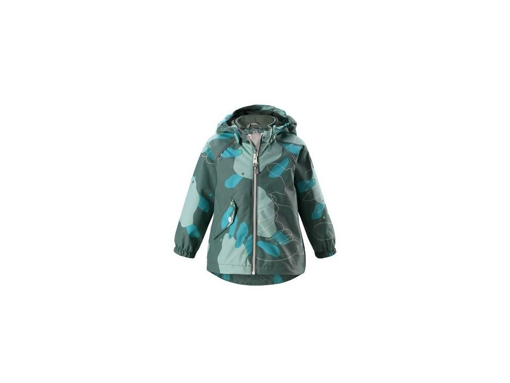Dětská membránová bunda Reima Forest - Soft green