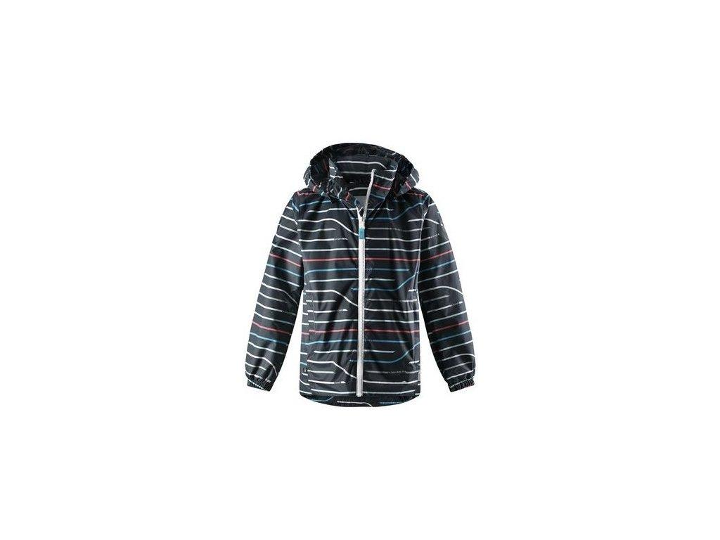 Dětská membránová bunda Reima Svinge - Soft black