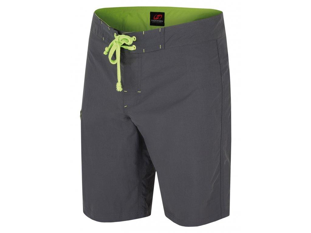 Dětské volnočasové šortky vyrobené z rychleschnoucího a prodyšného materiálu AFT Quick Dry, mají regulovatelný obvod pasu pomocí pásku a vnitřní regulace, jednu kapsičku na suchý zip