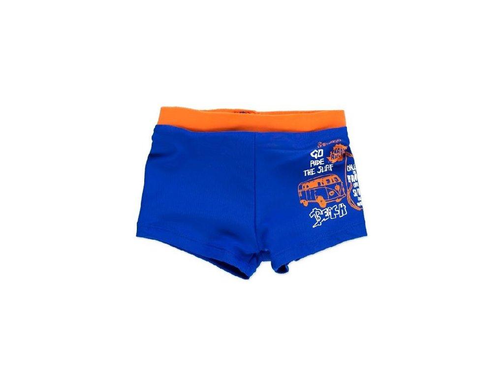 Kvalitní chlapecké rychleschnoucí šortkové plavky s UV ochranou Losan Surf modré