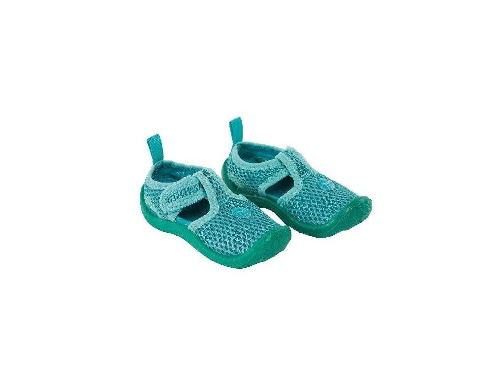 Kvalitní dětské lehké a prodyšné boty do vody Lassiq Beach Sandals Kids - Lagoon